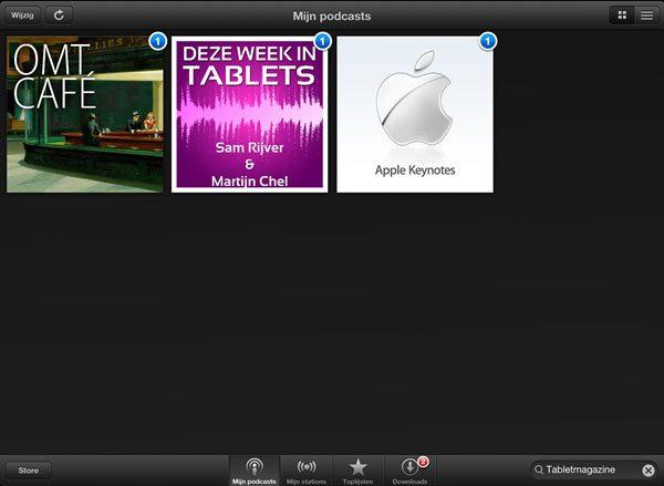 Podcast-app-iPad