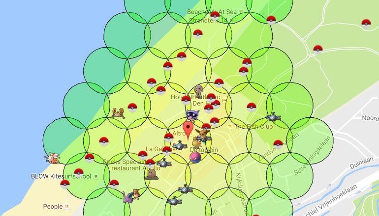 Pokemon Live Map