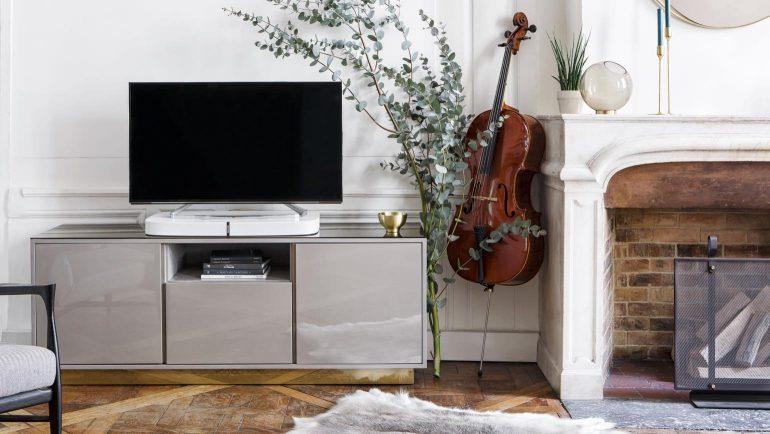 Tv Radio Meubel : Red edition en sonos lanceren tv meubel geïnspireerd op design