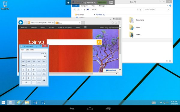 2 Microsoft Launches Android Remote Desktop Remote Desktop app for Android tablets and iPad