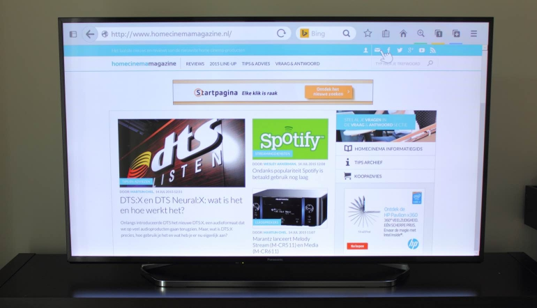 Review-Panasonic-CX740E-browser