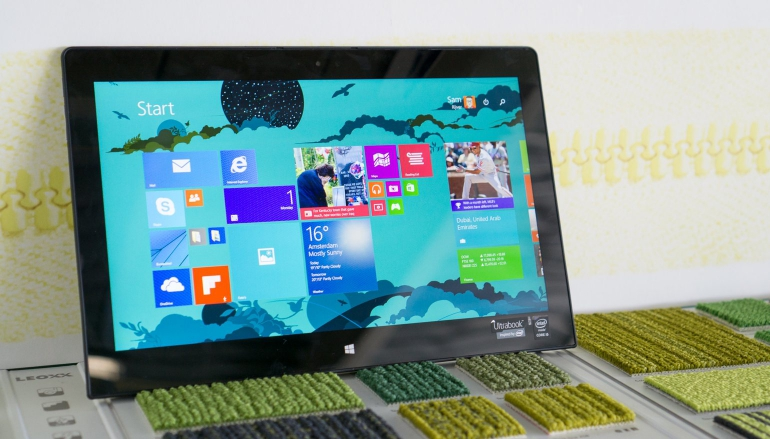 Review-Toshiba Satellite Click 2 Pro P30W-tablet