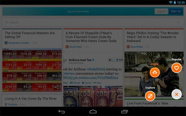 Rockmelt-browser