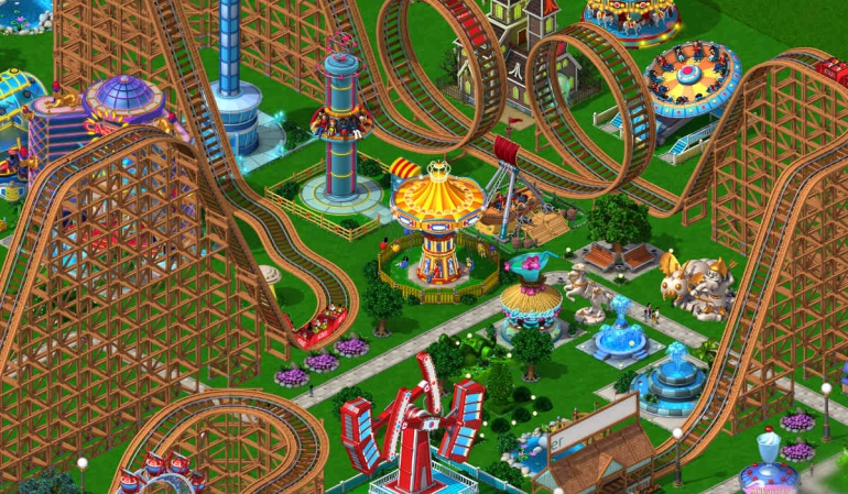 RollerCoaster Tycoon 4 770x449 iPad as your console, the best games and accessories