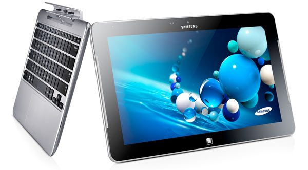 Samsung ATIV Smart pc proSamsung onthult ATIV Smart PCs; Windows 8 tablets met keyboard dock
