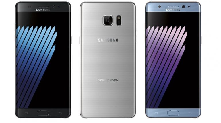 Samsung Galaxy Note 7 a