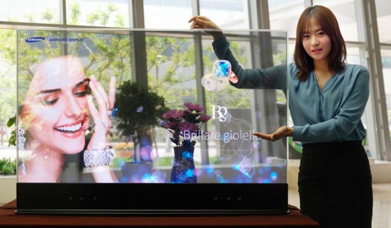 Samsung-transparant-oled