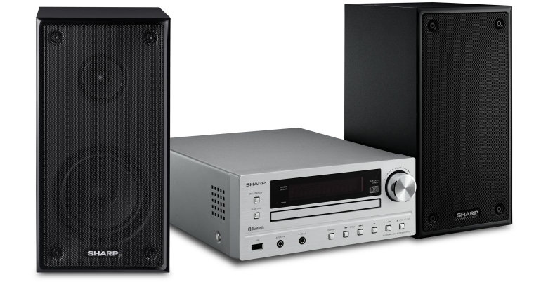 Sharp XL-HF102BH microsysteem