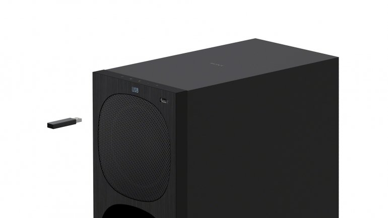Sony HT-S40R subwoofer