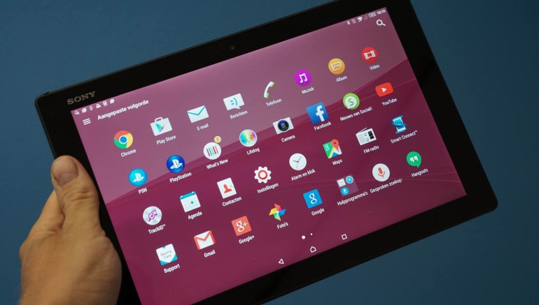 Sony-Xperia-Z4-Tablet-review-gebruik