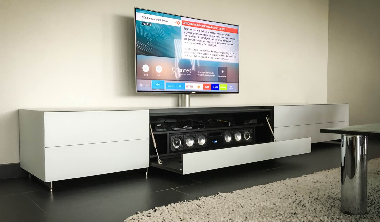 Spectral Brick Tv Meubel.Review Spectral Bra2 Soundbar Met Meubel Homecinema Magazine