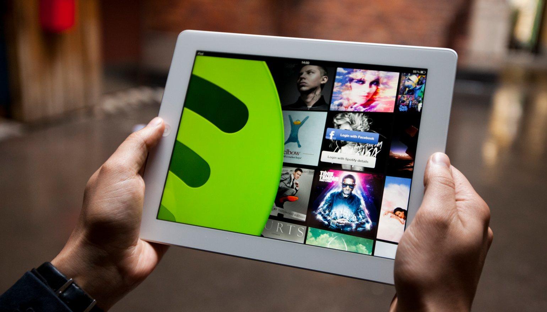 Spotify-iPad