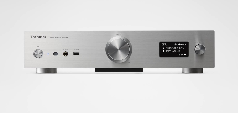 Technics Grand Class Network Audio Amplifier SU-G30 whole