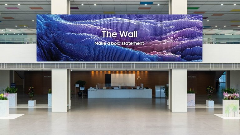 Samsung The Wall 2021