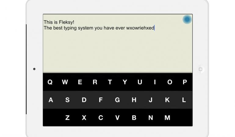 Toetsenborden voor iPadi iPhone Flesky