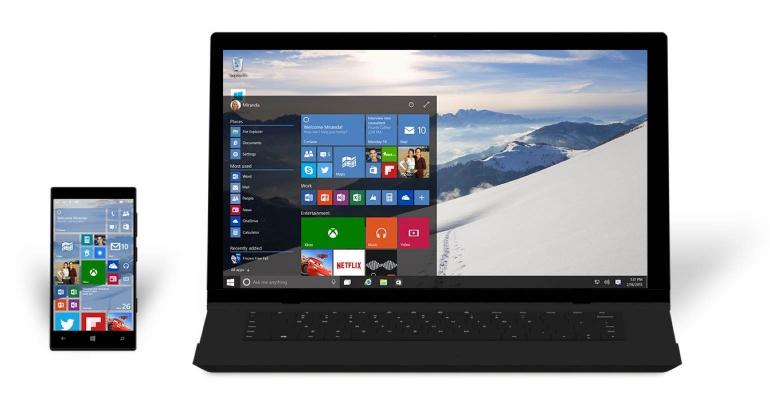 Windows-10-laptop-smartphone
