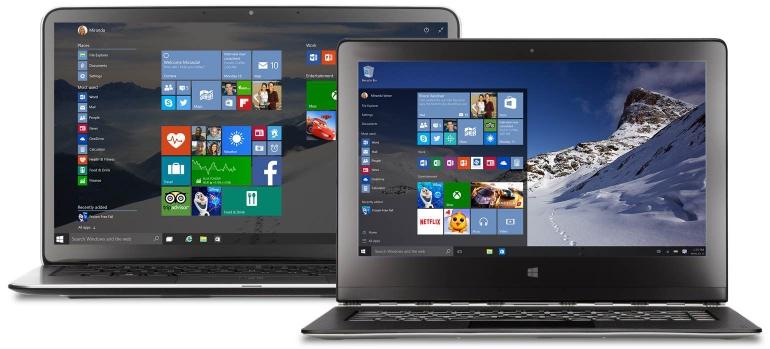 Windows-10-uiterlijk