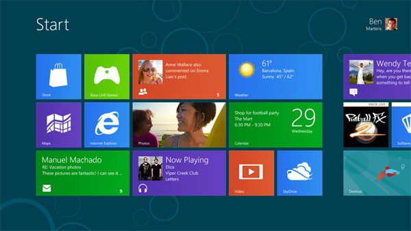 Windows 8 consumer previewWindows 8 voor ARM tablets krijgt de naam Windows RT