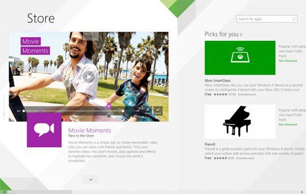 Windows-Store-nieuw