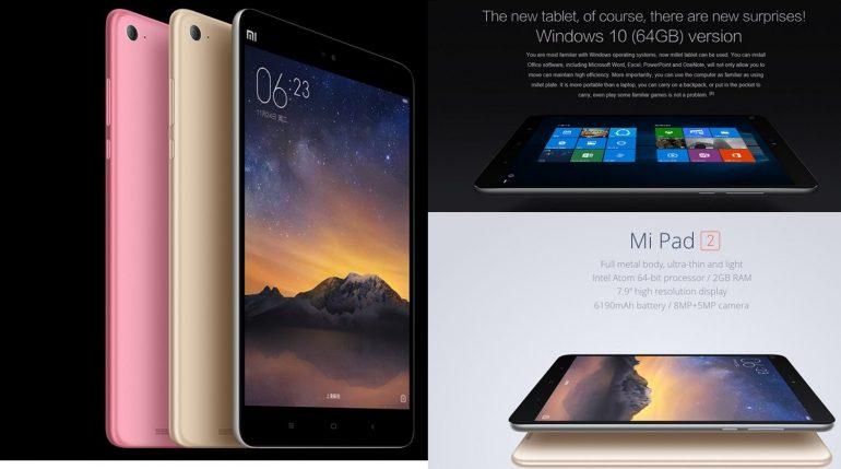 Xiaomi Mi Pad 2 c