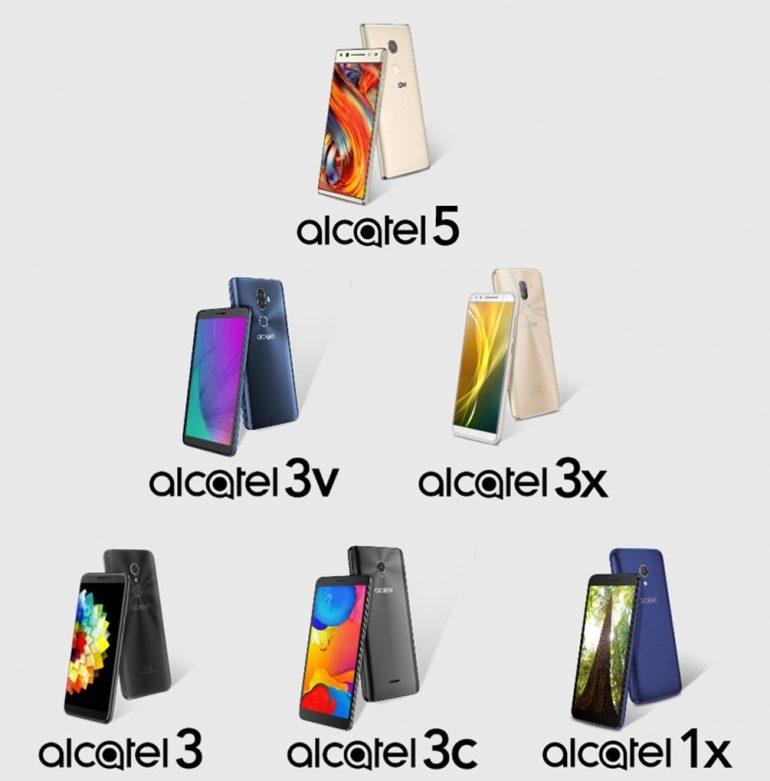 alcatel-lineup