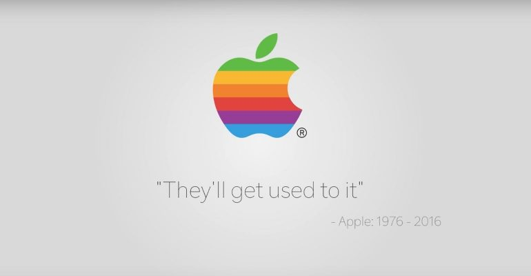 apple slogan joke