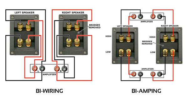 bi wiring speakers audiokarma home audio stereo discussion forums rh audiokarma org bi-wiring klipsch speakers Discontinued Klipsch Speakers