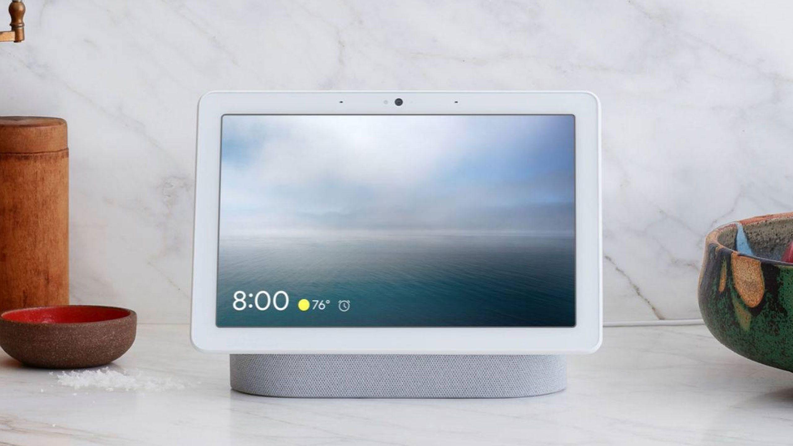 Nest Hub Max test optie activeren Google Assistent zonder hotword