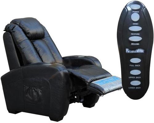 de ultieme fauteuil voor je home cinema kamer gadgets magazine. Black Bedroom Furniture Sets. Home Design Ideas