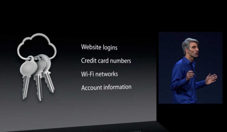 iCloud wachtwoorden opslaan iPad