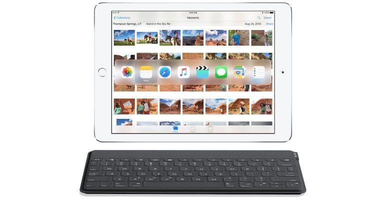 iOS 9 extern toetsenbord