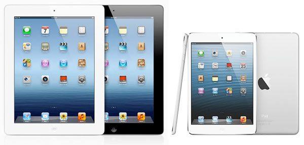 iPad Mini vs iPad 4Vijf reasons to opt for an iPad