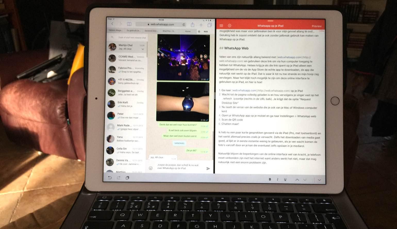 Zo gebruik je WhatsApp op je iPad | Tablets Magazine