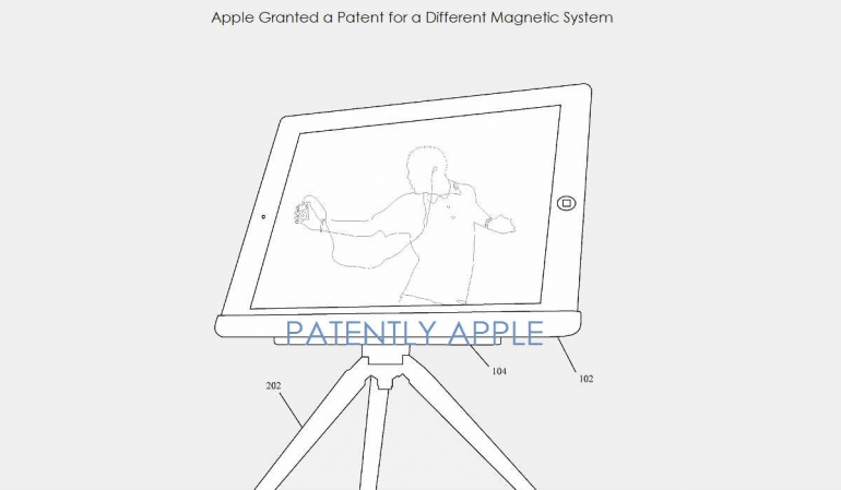iPad statief patent