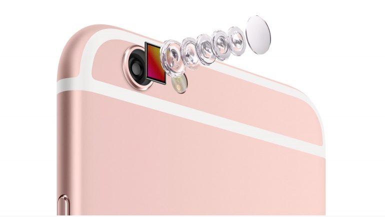 iPhone 6 S Plus camera