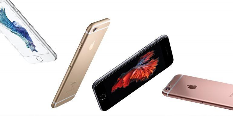 iPhone 6 S plus kleuren