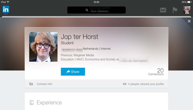 ipad linkedin 770x440 Three apps that should not be missing on your iPad # 46