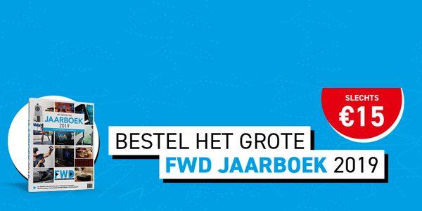 Bestel <b>nu</b> het grote <b>FWD</B> <b>Jaarboek</b> hier voor <b>15 euro</b>!