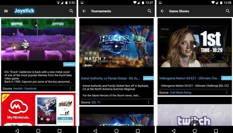 joystick-news-app