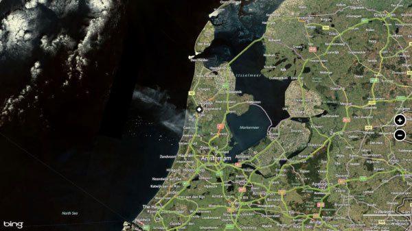 windows 8 Bing Maps