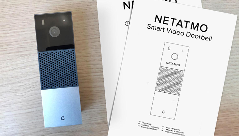 Handleiding Netatmo Doorbell gespot bij communicatiewaakhond