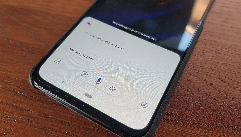 Google wil spraakcommando's weer opslaan voor verbeteren Assistent