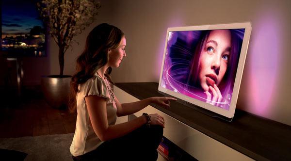 philips presenteert designline tv 39 s met easy 3d net tv 3dtv magazine. Black Bedroom Furniture Sets. Home Design Ideas