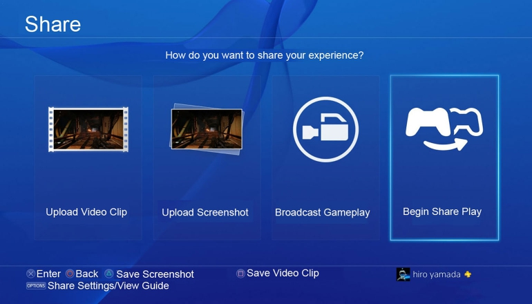 playstation-4-share