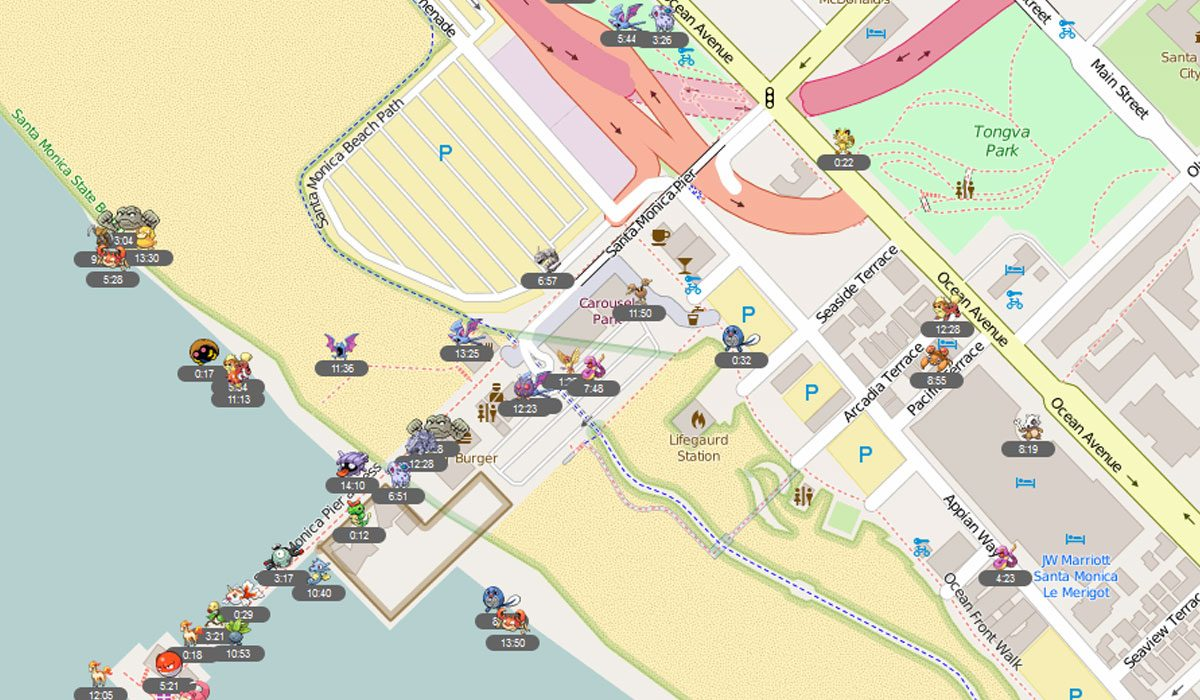 fastpokemap map
