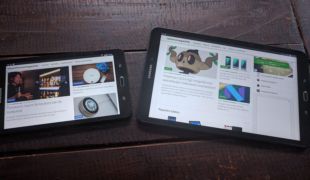 Review: Samsung Galaxy Tab A 10 1 (2016) en Galaxy Tab A 7 0