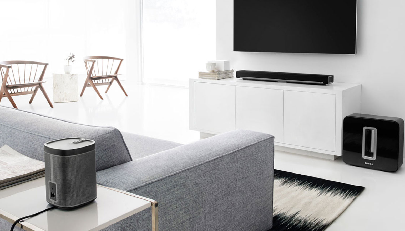 Sonos Woonkamer Opstelling : Review sonos play play sub en playbar complete set