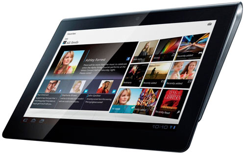 sony tablet sPreview & unboxing Sony Tablet S