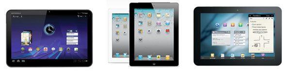 Vergelijking: iPad 2, Transformer, Galaxy Tab 10.1 ...