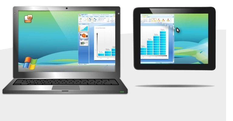 windows met android tweede scherm